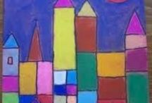 KIDS B Art  Painting Activities / by Angela Needham