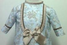 Vestidos para bebe otoño invierno / Vestidos para niña realizados totalmente a mano por nuestras modistas con tejidos naturales y perfectamente terminados. Puedes encontrarlos en nuestra página web https://www.mibebesito.es