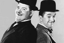 Stan Laurel & Oliver Hardy (Stanlio & Olio)