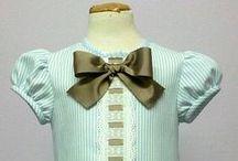 Vestidos para bebe primavera/verano / Vestidos para niña realizados totalmente a mano por nuestras modistas con tejidos naturales y perfectamente terminados. Puedes encontrarlos en nuestra página web https://www.mibebesito.es