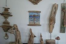 Sandra's Driftwood (Facebook) / I make art off driftwood what I find along the Norwegian fjords and coast. I get my inspiration from the Norwegian nature, the fjords and seas.