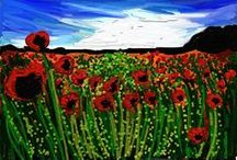 World War One / Poppy art, remembrance work, primary, education topic ww1/2