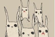 Bunny Weirdness / TheTwilight Zone of Bunnydom.