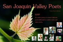 San Joaquin Valley Poets / SJVP is an local poetry group dedicated to short poetry, tanka, haiku and haibun in the Central Valley of California, founded by Jet Keene.