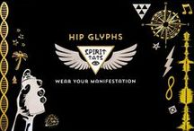 Hip Glyphs S P I R I T  T A T S / Metallic Tats, meaningfully designed for the Hip Glyph loving, artistic spirit. This collection includes geometric shapes, musical symbols, artist focused designs and a bit of humor.