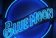 Blue Moon-- Poetry & Art / Beautiful images in blue coupled with the poetry of Michael McClintock.