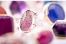 Gemstone Rings / Jamie Joseph gemstone rings. http://www.jamiejoseph.com/
