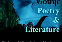 Gothic Poetry & Literature Board / A small collection of classic gothic books and  gothic-style story poems, a genre of poetry with deep roots in Western fiction and lore, embraced by many writers past and present: Washington Irving, Poe, H. P. Lovecraft, Clark Ashton Smith, George Sterling, R. L. McCallum, and more.