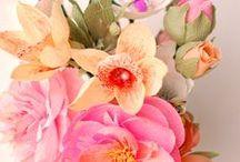 Decoratiuni si flori din hartie