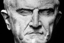 Ancient Faces / Ancient busts and other portraits of known historical persons.