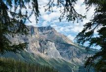 National Parks - Canada / The amazing national parks of America's northern Neighbor ❤️ // Canada, Canadian Rockies, National Parks of Canada, wilderness, outdoors, national parks, landmarks, mountains, waterfalls, lakes, forests, nature photography, outdoor photography, adventure, hiking, camping, backpacking
