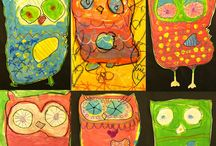 primary art ideas / A Collection of art projects for primary