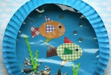 Ocean / Ideas, activities and lessons for Pre-K through Elementary that follow an ocean theme.
