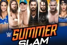 WWE SummerSlam / Pins from WWE SummerSlam, the Biggest Event of the Summer, LIVE August 18 from Los Angeles' STAPLES Center! Visit http://SummerSlam.com for more details and how to watch live.  / by WWE