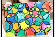 Art / Art activities for the classroom geared for ages PreK through Elementary.