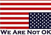 America is in trouble / by Brenda Neal