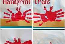 Handprints, Fingerprints and Footprints / Crafts and ideas involving little hands, feet and fingertips.