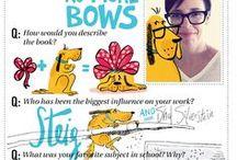 Meet the Authors and Illustrators / Handwritten interviews by authors and illustrators!