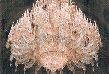 Chandelier Obsession / I have a love for chandeliers. They are all so beautiful! / by Jenny Doremus