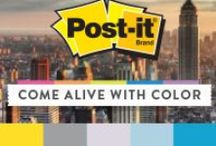 Color Collections - New York City / Life plays out for millions on a stage of stone and steel. Explore the Post-it® Brand New York City Color Collection. / by Post-it® Brand