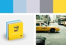 New York City Post-it Color Collection / Explore the Post-it Brand New York City Color Collection where life plays out for millions on a stage of stone and steel. / by Post-it® Brand