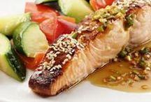 Eat...Fish / Fish recipes. Shrimp, Tilapia, Salmon, etc...