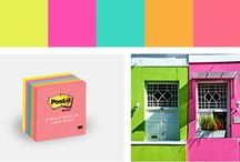 Cape Town Post-it Color Collection / Explore the Post-it Cape Town Color Collection which possesses a vibrant palette true to the port at the Southern tip of Africa. / by Post-it® Brand