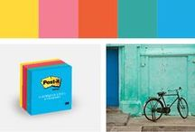 Jaipur Post-it Color Collection / Explore the Post-it Jaipur Color Collection with colors that draw upon the food, art and culture of India. / by Post-it® Brand