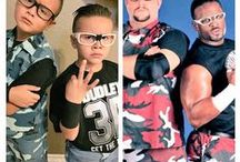 #HalloWWEen / The WWE Universe got in the spooky spirit by dressing up as their favorite WWE Superstars and Divas.  Check out the best costumes here!