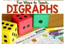 Digraphs and Blends / Ideas, activities and worksheets to make teaching digraphs, blends and diphthongs (vowel pairs) easy and FUN!