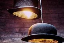 Upcycles & Unusual Light Ideas