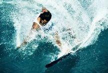 Gliss / Glisse surf snowboard sports nautiques hiver océan vagues