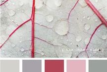 Color inspiration in Red / All those gorgeous color combinations that belong to the warmth and fire of RED