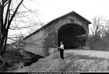 Alvin W. Holmes Covered Bridge Photographs / The Alvin W. Holmes Covered Bridge Photographs digital collection includes over 300 photographs and slides of covered bridges taken by Alvin W. Holmes.   To learn more about this collection visit the Alvin W. Holmes Covered Bridge Photographs in the Ball State University Digital Media Repository.