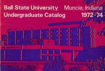 Ball State University Course Catalogs / The Ball State University course catalogs digital collection includes information about academic policies and requirements, course descriptions, programs, admissions and unique student opportunities ranging from 1918 to 1998.  To learn more about this collection visit the Ball State University Course Catalogs in the Ball State University Digital Media Repository.