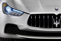 Maserati collection / All Maserati cars, street and racing, from the past to the present day
