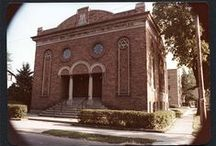 Temple Beth-El Records / Officially founded in 1885, Temple Beth-El has served the Jewish community of East Central Indiana for over one hundred years. In addition to providing religious services, Temple Beth-El has supported a variety of organizations such as women's and youth groups. The congregation's current temple, located at the corner of West Jackson and Council streets, was dedicated on December 3, 1922.