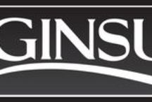 Ginsu Cutlery / The Ginsu brand encompasses different, distinct series of knives - something to fit every chef and kitchen! At Ginsu we offer the best value, great quality cutlery at affordable pricing.  Browse our selection at www.genuineginsu.com