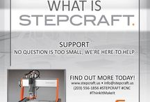 About #STEPCRAFT https://www.stepcraft.us Torrington, CT USA #CNC #DIY #Woodworking #3dprinting / About STEPCRAFT'S all-in-one multifunctional CNC machine. www.stepcraft.us #CNC router #3D printing mill carve engrave woodworking