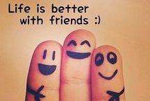 Friendship / Amistad / Recopilación de las mejores imagenes, fotos y frases de Amistad, para dedicar a tus amigos y amigas que más te importan en las redes sociales → http://www.soloimagenesdeamistad.com
