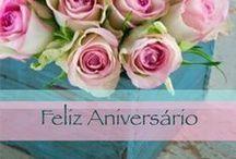 Feliz Aniversário / Parabéns / Coleção de imagens, fotos, imagens animadas, mensagens, gifs e cartões de Feliz Aniversário... ¡Meus Parabéns e um Feliz Aniversário! → http://www.imagensfelizaniversario.com
