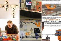 Updates and News about #STEPCRAFT  #CNC router #3D printing mill carve engrave woodworking / #STEPCRAFT updates and News www.stepcraft.us  #CNC router #3D printing mill carve engrave woodworking