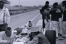 Roger Pelham Indianapolis 500 Collection / The Roger Pelham Indianapolis 500 digital collection in the Ball State University Digital Media Repository provides access to photographs, press tickets, parking passes, & programs from Roger Pelham of Muncie, Indiana, documenting Indianapolis 500 auto races held at the Indianapolis Motor Speedway between circa 1950 and 1981.
