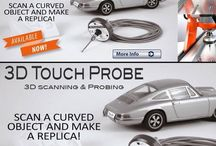3D Touch Probe by #STEPCRAFT Scan a curved object and make a replica! 3D Touch Probe Now AVAILABLE! www.stepcraft.us/touchprobe #STEPCRAFT #CNC #CNCOwners #design / Scan a curved object and make a replica! 3D Touch Probe Now AVAILABLE! www.stepcraft.us/touchprobe #STEPCRAFT #CNC #CNCOwners #design
