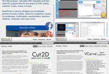 CNC Software / CNC Software for STEPCRAFT