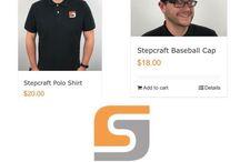 Stepcraft merchandise https://stepcraft.us/product-category/merchandise / Stepcraft merchandise is what's new!