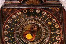 Astronomical clocks & astrolabes