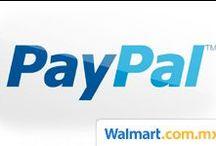 PayPal / ¡Aprovecha en walmart.com.mx los mejores precios al pagar con PayPal y recibe hasta un 50% en cashback!