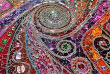 Mosaicos, vidrieras, decoupagge, tapices / by Hongo Molongo