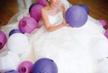 COLOUR: Purple / Need some colour inspiration for your wedding party?